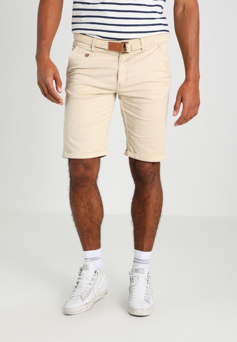 INDICODE JEANS - CONER - Shorts - fog