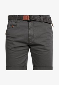 INDICODE JEANS - CONER - Shorts - raven - 4
