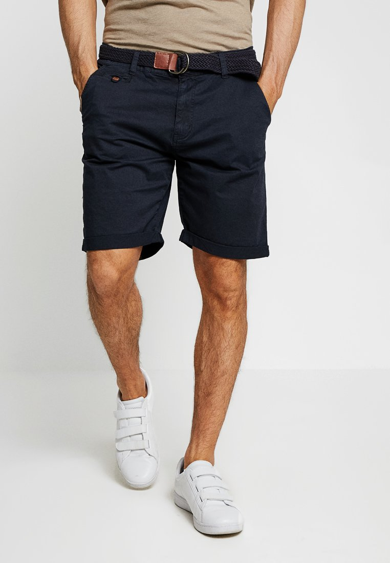 INDICODE JEANS - CONER - Shorts - navy