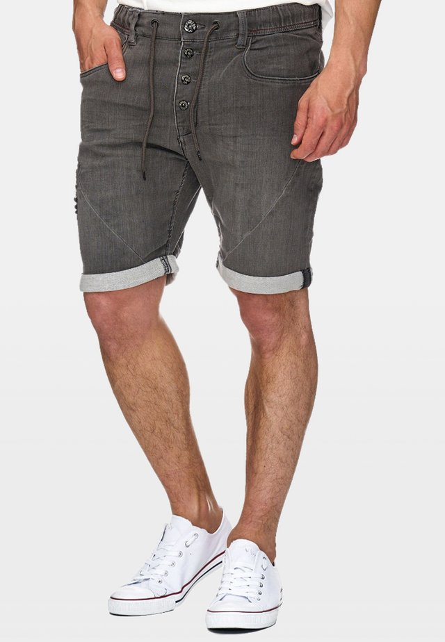 Jeans Shorts - grey