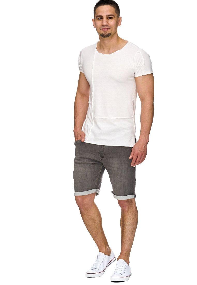 INDICODE JEANS - KADIN  - Jeans Shorts - grey