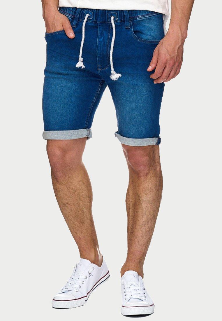 INDICODE JEANS - KADIN  - Jeans Shorts - blue