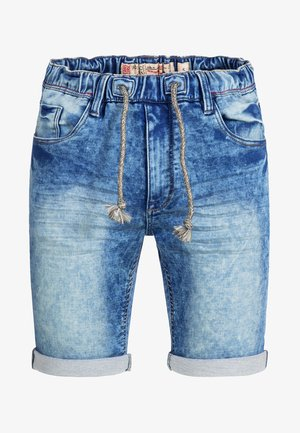 KADIN  - Denim shorts - blue