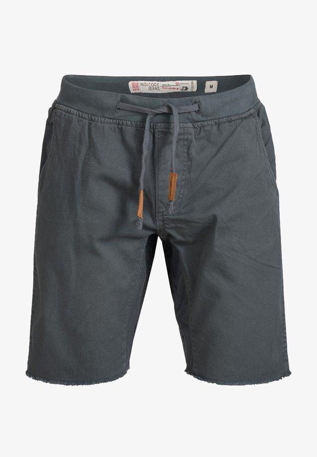 CARVER - Jeans Shorts - anthrazit