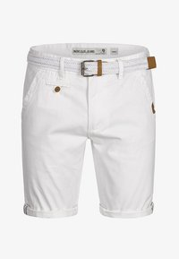 INDICODE JEANS - CASUAL FIT - Shorts - off white - 5