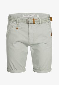 INDICODE JEANS - CASUAL FIT - Shorts - light grey - 5