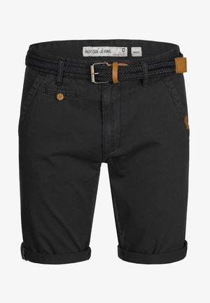 CASUAL FIT - Shorts - mottled black