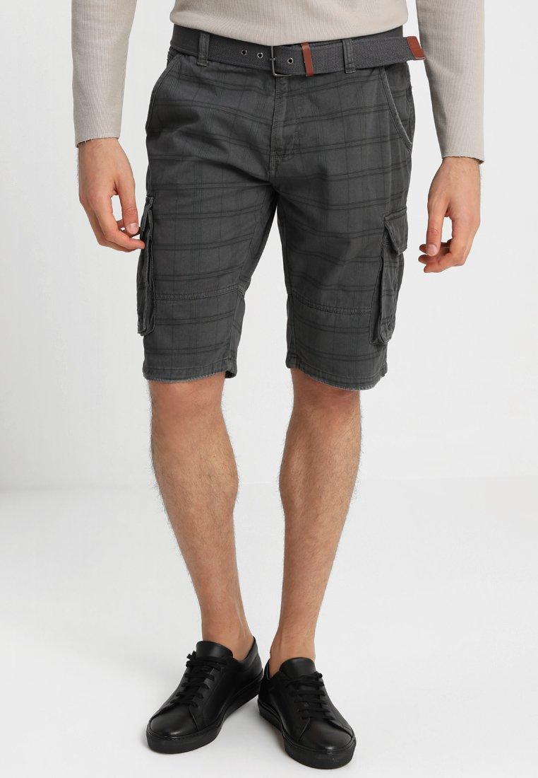 INDICODE JEANS - RISHI - Shorts - raven