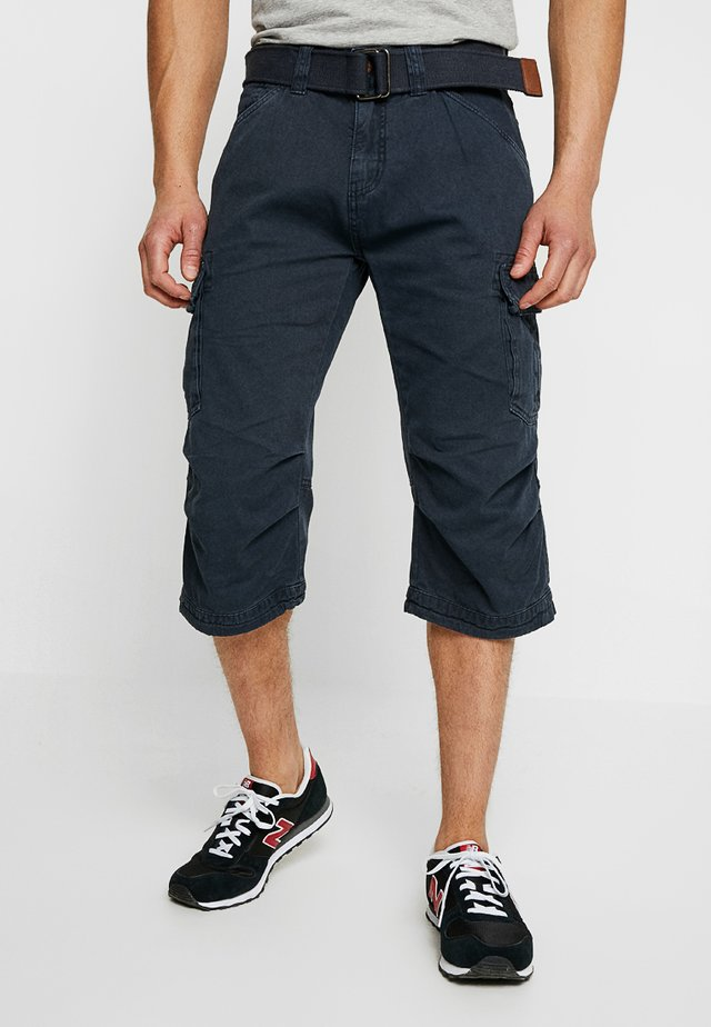 NICOLAS - Shorts - navy