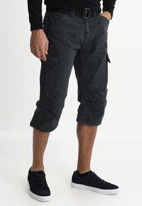 INDICODE JEANS - NICOLAS - Shorts - black - 0