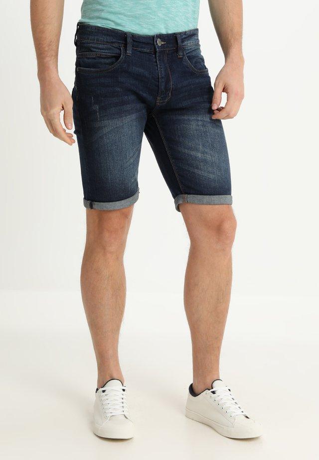 KADEN - Szorty jeansowe - dark blue