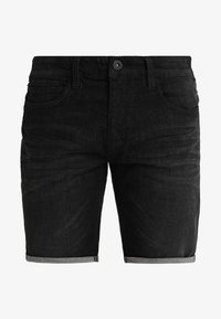 INDICODE JEANS - KADEN - Szorty jeansowe - black - 4