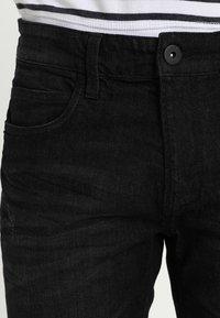 INDICODE JEANS - KADEN - Szorty jeansowe - black - 3