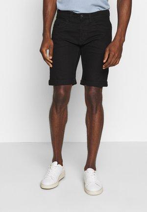 KADEN - Jeansshorts - ultra black