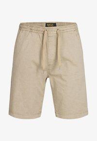 INDICODE JEANS - KELOWNA - Shorts - white pepper - 4