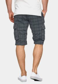 INDICODE JEANS - MONROE - Shorts - light grey - 2