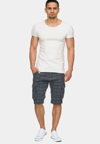 INDICODE JEANS - MONROE - Shorts - light grey - 1
