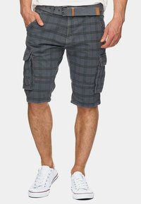 INDICODE JEANS - MONROE - Shorts - light grey - 0