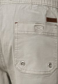 INDICODE JEANS - Short - mottled light grey - 4