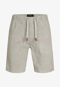 INDICODE JEANS - Short - mottled light grey - 5