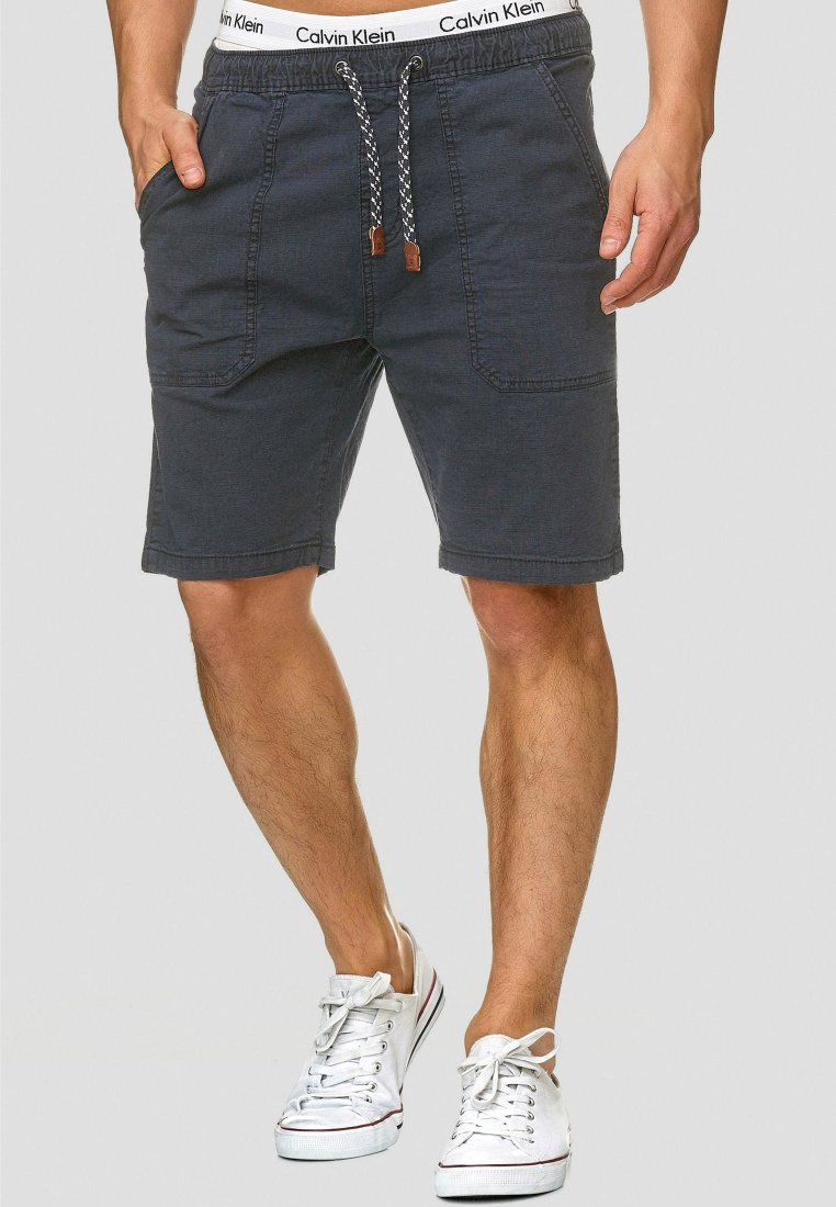 INDICODE JEANS - Shorts - navy