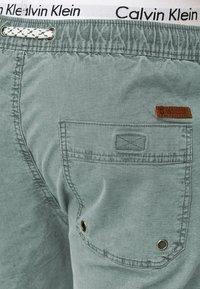 INDICODE JEANS - Shorts - blue surf - 3