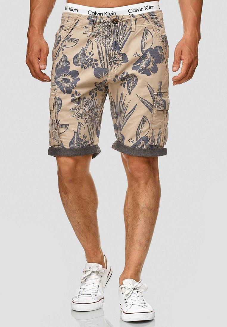 INDICODE JEANS - ALBERT - Shorts - beige