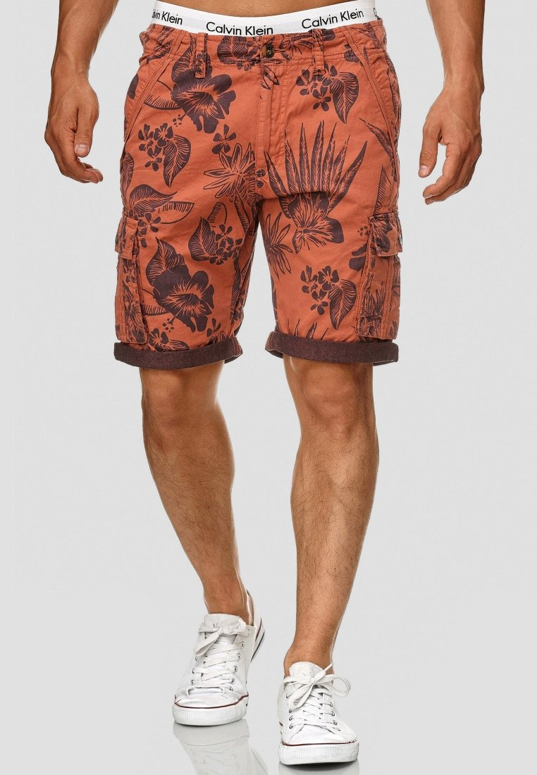 INDICODE JEANS - ALBERT - Shorts - orange