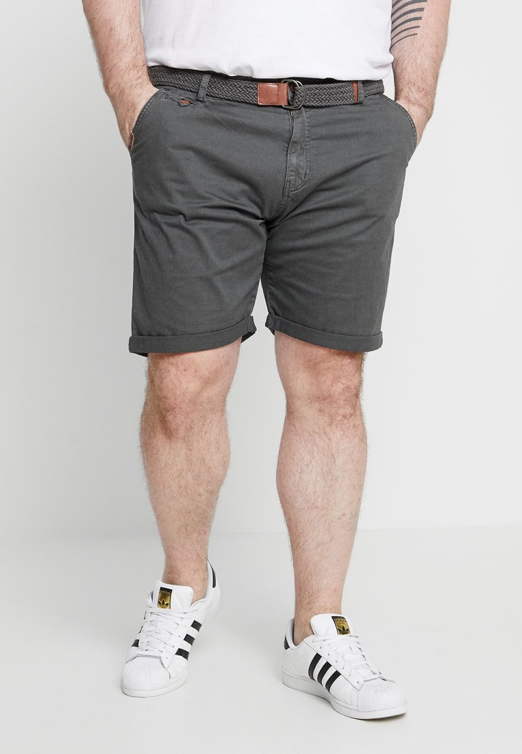 INDICODE JEANS - CONOR PLUS - Shorts - raven