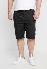 INDICODE JEANS - DEPTFORD PLUS - Shorts - black - 0