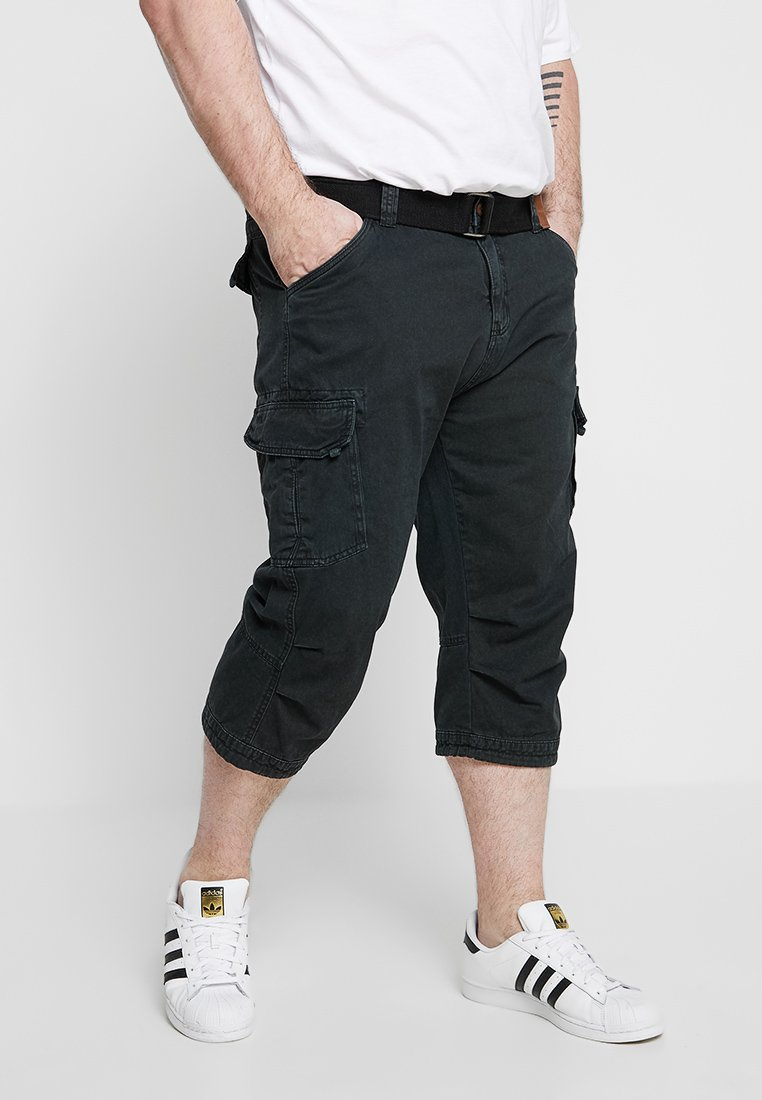 INDICODE JEANS - NICHOLAS PLUS - Shorts - black