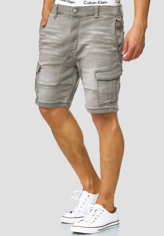 Jeans Shorts - light grey