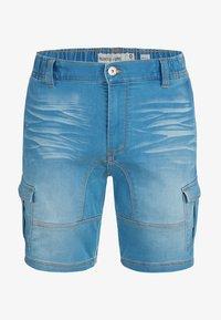 INDICODE JEANS - Jeansshort - blue wash - 3