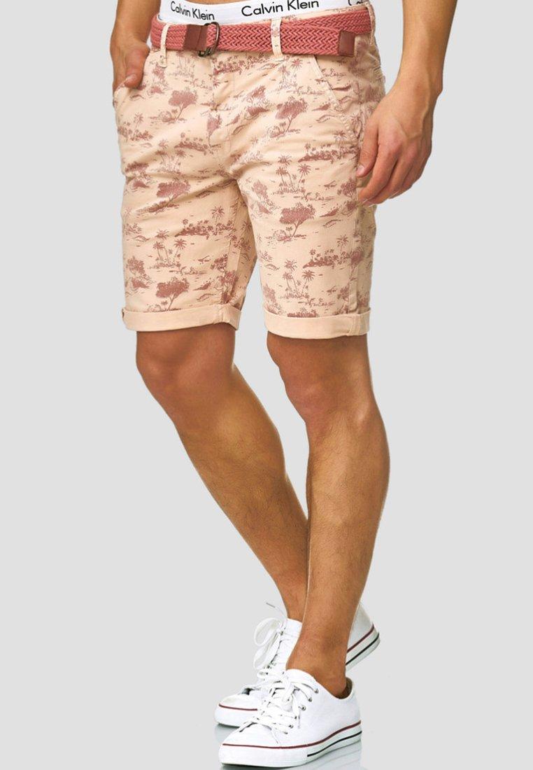 INDICODE JEANS - LILESTONE - Shorts - cameo rose