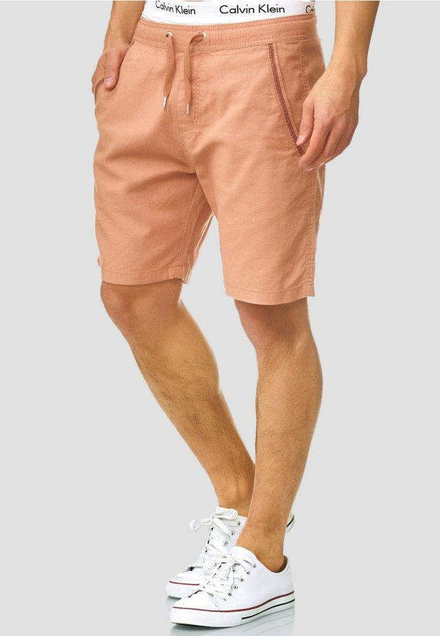 REGULAR FIT - Shorts - cork