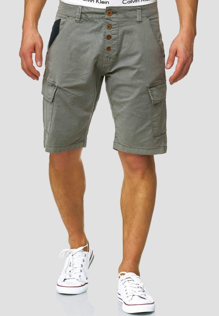 INDICODE JEANS - Shorts - dark grey