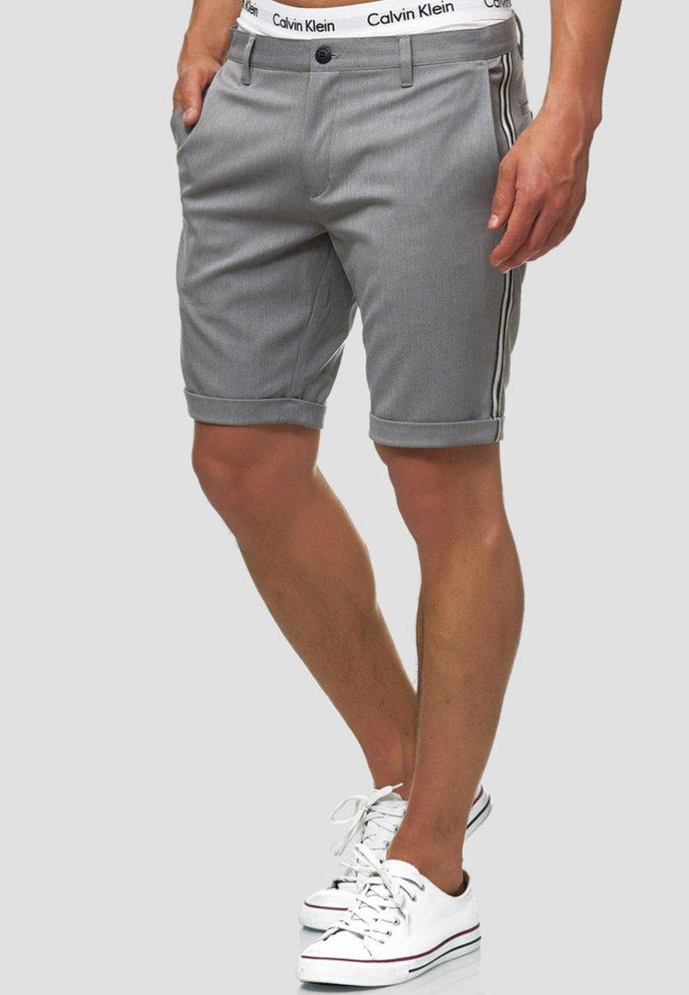 INDICODE JEANS - Shorts - grey