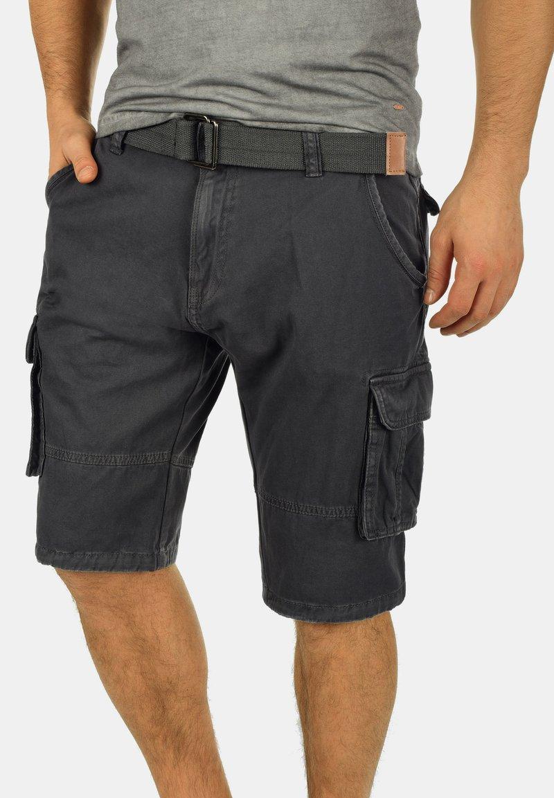INDICODE JEANS - COSTA - Shorts - dark grey