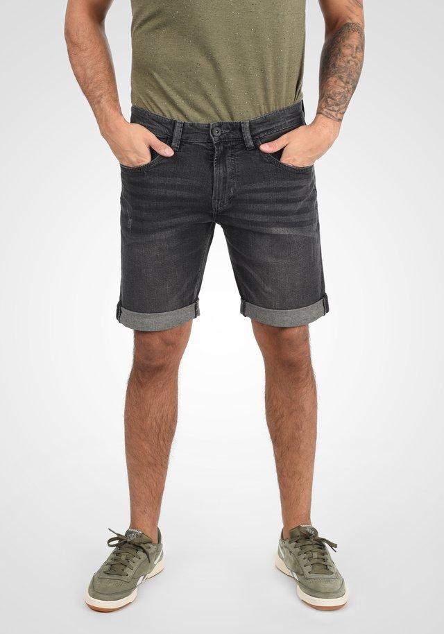 QUENTIN - Denim shorts - dark grey