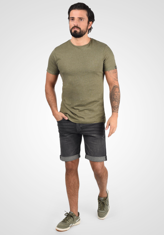 INDICODE JEANS QUENTIN - Denim shorts - dark grey