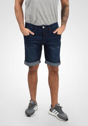 QUENTIN - Denim shorts - dark blue