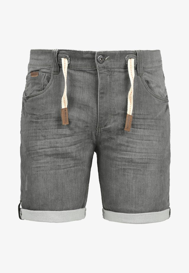 LLOYD - Denim shorts - grey