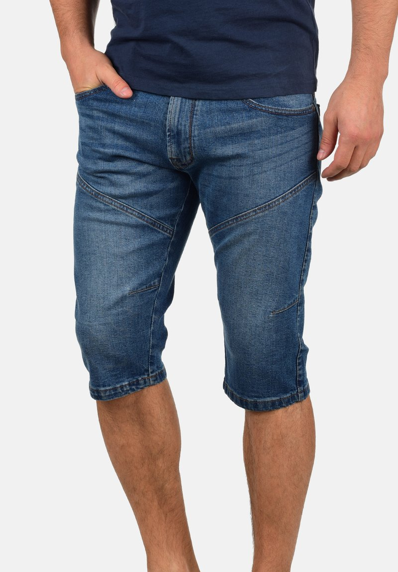 INDICODE JEANS - QUENTINO - Denim shorts - blue