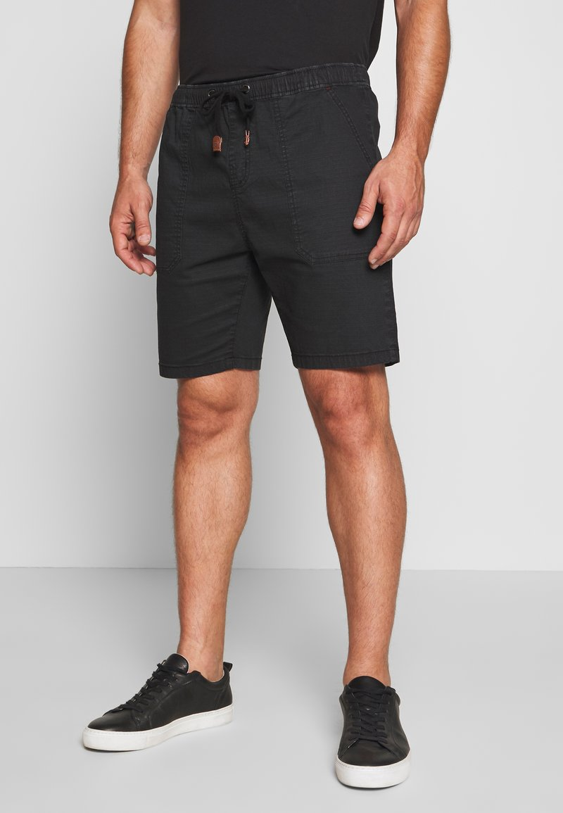 INDICODE JEANS - THISTED - Shorts - black