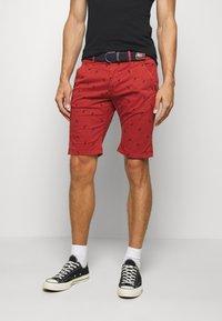 INDICODE JEANS - ASHFIELD - Shorts - red ochre - 0