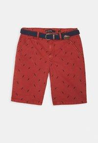 INDICODE JEANS - ASHFIELD - Shorts - red ochre - 4