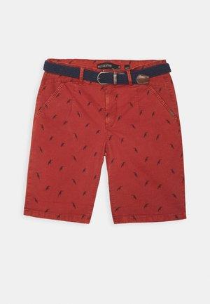 ASHFIELD - Shorts - red ochre