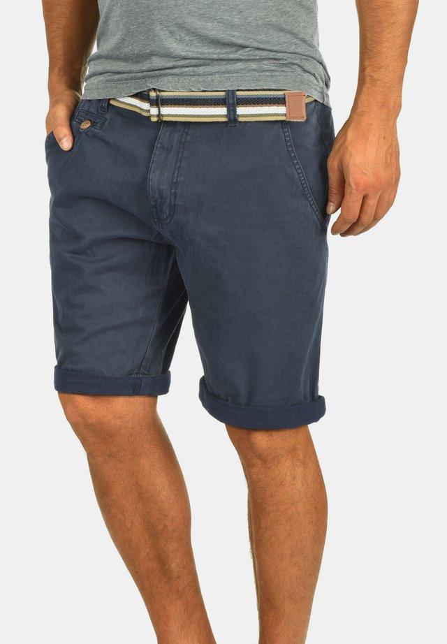 CHINOSHORTS CASTRO - Shorts - navy