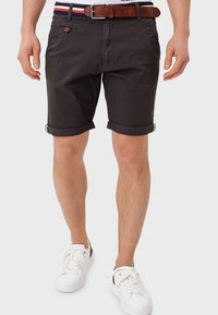INDICODE JEANS - Shorts - anthracite - 0