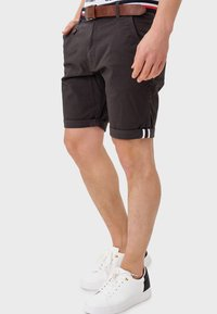 INDICODE JEANS - Shorts - anthracite - 3